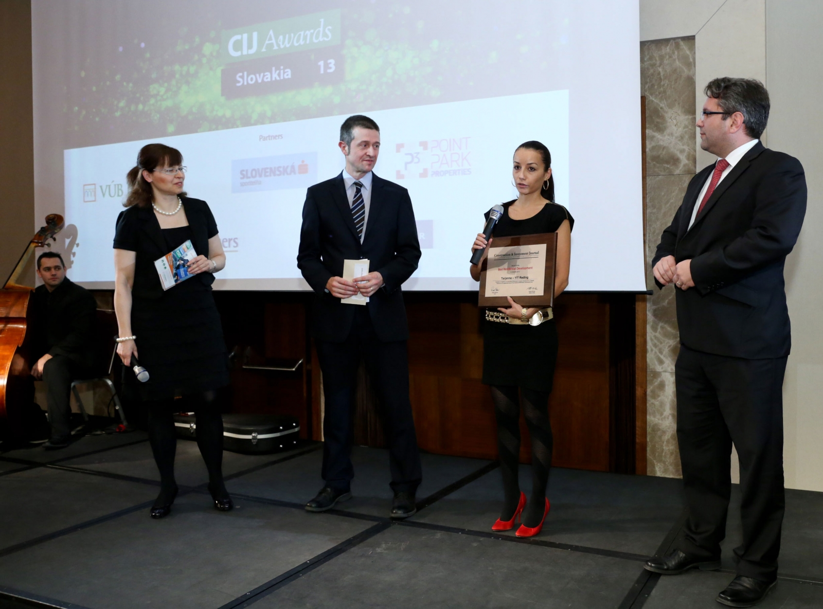 CIJ Awards 2013